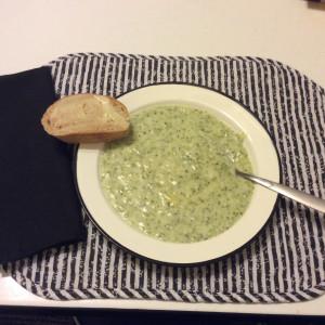 Broccoli Soup Dinner
