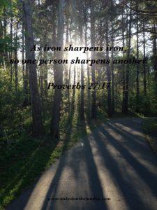 Proverbs 27 Verse 17